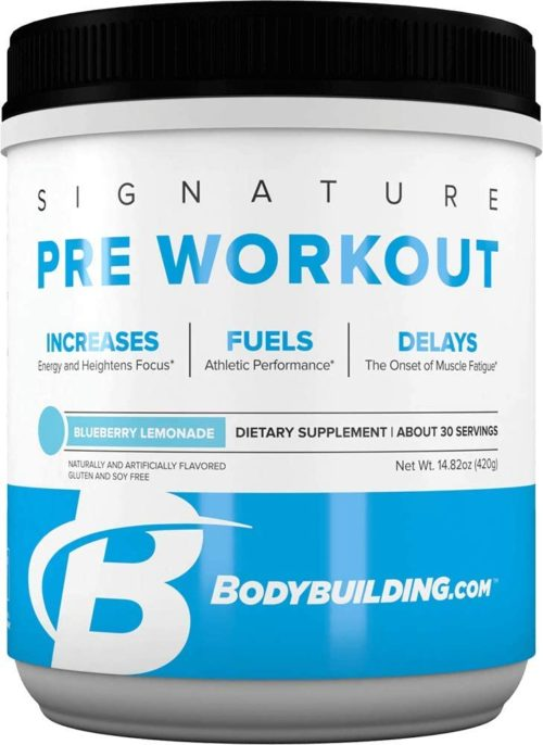Bodybuilding Signature Pre Workout Powder